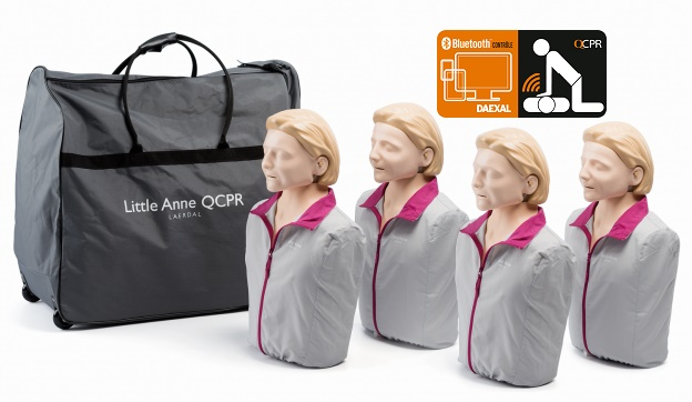 Pack de 4 Little Anne QCPR
